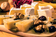Some Kinds Of The Cheeses And ...