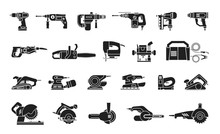 Big Icon Collection Of Power E...
