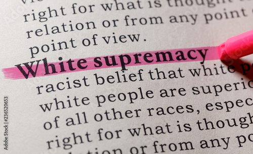 Cuadros en Lienzo definition of White supremacy