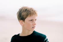 Portrait Of Teenage Boy.