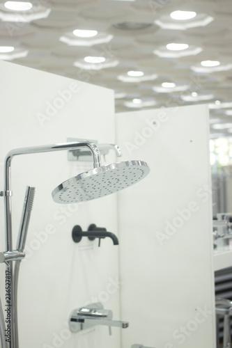 Fotografía  Bathroom shower display showroom