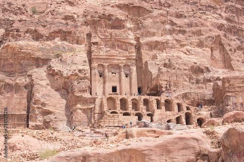 Poster Athens Urn tomb site Petra Aqba Jordan