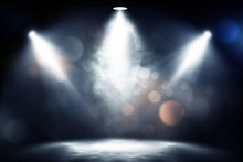 Spotlight Smoke Studio Entertainment Background.