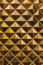 Golden Pyramids Background