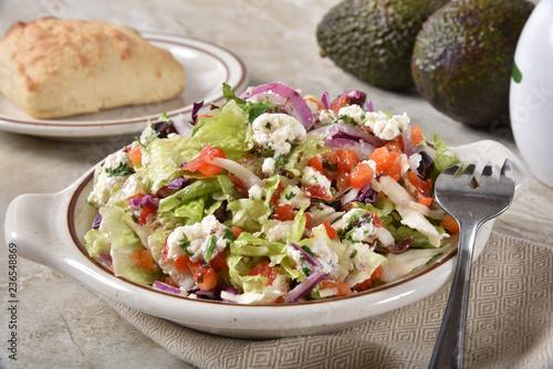 Fotografie, Obraz  Fresh healthy Greek salad