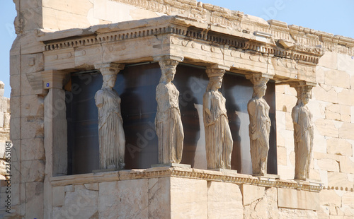 Foto auf AluDibond Athen ancient greek temple of apollo