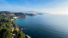 Beautiful Coastline Of Lloret De Mar.