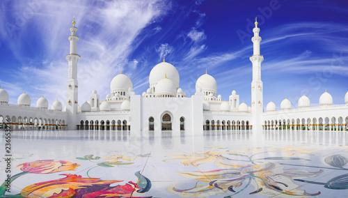 Sheikh Zayed mosque in Abu Adabi