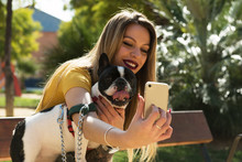 Stylishowner Taking Selfie W...