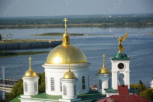 Fotografie, Obraz  NIZHNY NOVGOROD, RUSSIA - SEPTEMBER 7, 2018: Panoramic view to Annonciation Mona