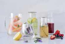 Healthy Fruit Infused Water And Natural Flavoured Syrups
