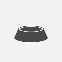Pet Food Bowl Icon
