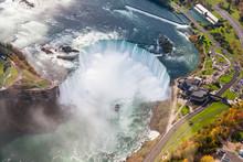 Niagara Falls Aerial View.  An...