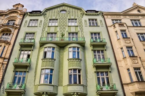 fototapeta na ścianę Prag, Jugendstilhaus