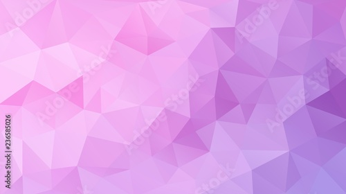 Flat pink triangle background