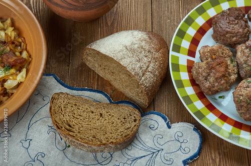 Swedish rye bread Limpa
