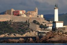 Ibiza Con Il Suo Faro, Vista D...