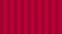 Deep Red Burgundy Chevron Zigz...
