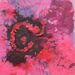 canvas print picture Struktur, Kunst, Modern Art, Pink
