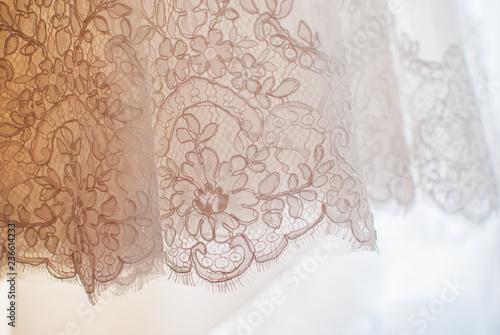 Valokuva  vintage background with lace