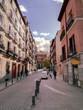 Hermosa y tranquila calle en Madrid