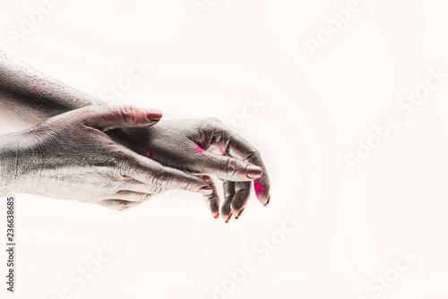Fotografía  Hand cream against aging