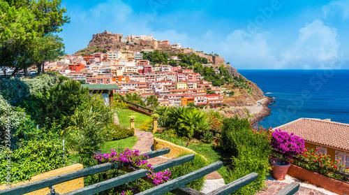 Medieval town of Castelsardo, Province of Sassari, Sardinia, Italy