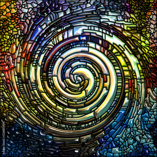 Energy of Spiral Color