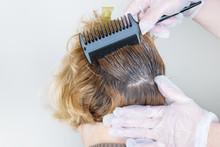 Dark Roots Of Hair, Overgrown Hair