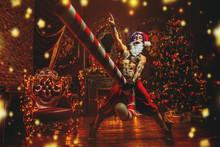 Tattooed Bad Santa