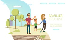 Family Relations Consultation Vector Web Banner