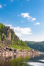 Big River Of Eastern Siberia. ...
