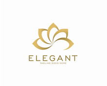 Luxury Logo Design Concept, Fl...