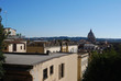 City view of Rome from Viale della Trinità dei Monti