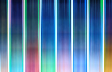 Vertical Motion Blur Multicolored Lights Background
