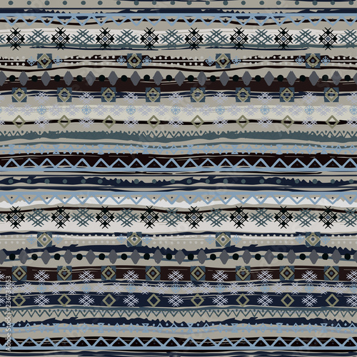 Ethnic boho seamless pattern Фотошпалери
