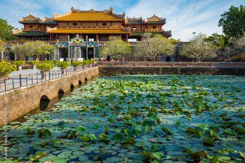 Obraz na płótnie Imperial Royal Palace of Nguyen dynasty in Hue, Vietnam