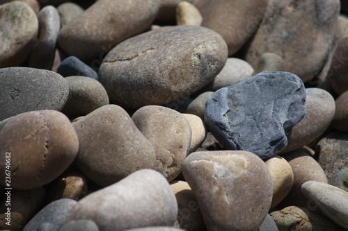 pebbles on the beach #236740682