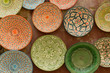 Schalen aus Keramik, Souvenirs, Essaouira, Marokko, Afrika