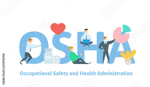 HSE - Health Safety Environment, acronym concept Canvas Print