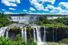 Iguazu Falls National Park In Brazil