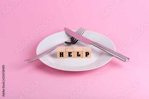 La pose en embrasure Magasin alimentation Hilfe bei Magersucht