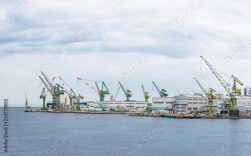 Foto op Aluminium Poort 神戸港の風景