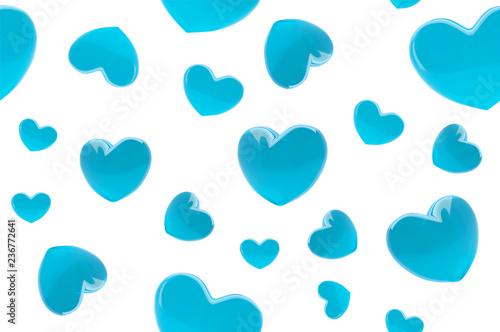 Hearts Beautiful Love Trendy Wallpaper