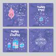 Merry Christmas set cards12
