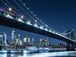 ニューヨーク イーストリバーとマンハッタン・ブリッジ