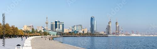 Bakou et la mer Caspienne, Azerbaïdjan - 236806671