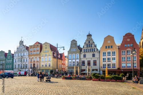 Fotografie, Obraz  Rostock, Neuer Markt, Deutschland