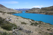 Lago Pehoe im Nationalpark Torres del Paine in Patagonien. Chile