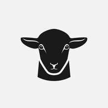 Head Of Sheep Silhouette